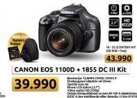 Digitalni Fotoaparat Canon EOS 1100D 1855DC III KIt + poklon ranac i knjiga