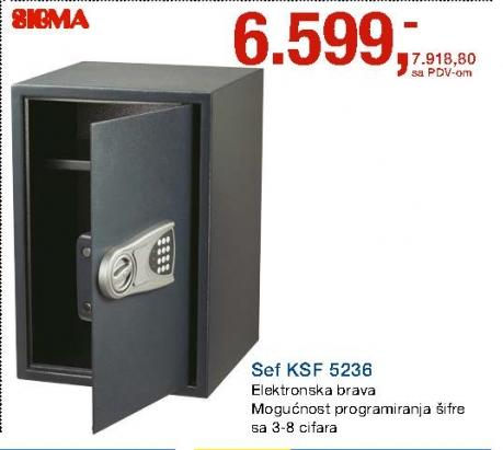 Sef KSF 5236