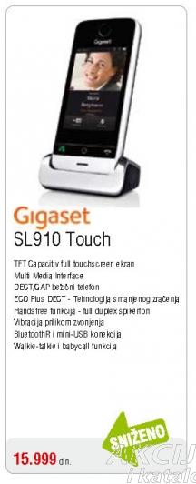 Gigaset SL910 Touch