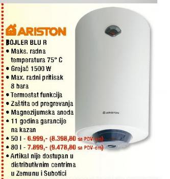 Bojler Blu R 80V