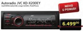 Auto Radio KD-X200EY