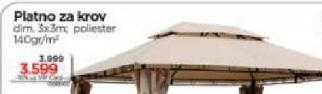 Platno za krov