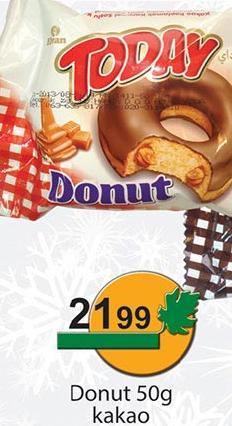 Biskvit kakao Donut