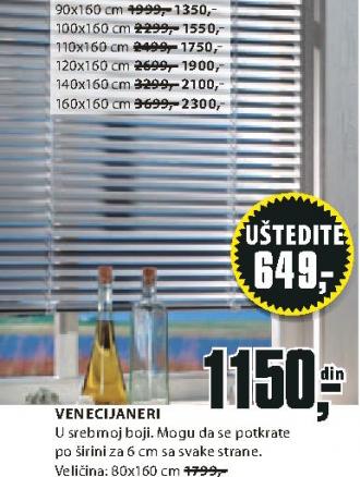 Venecijaneri, 140x160cm