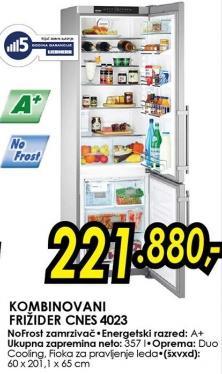 Kombinovani frižider Cnes 4023