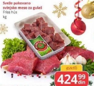 Svinjsko meso za gulaš