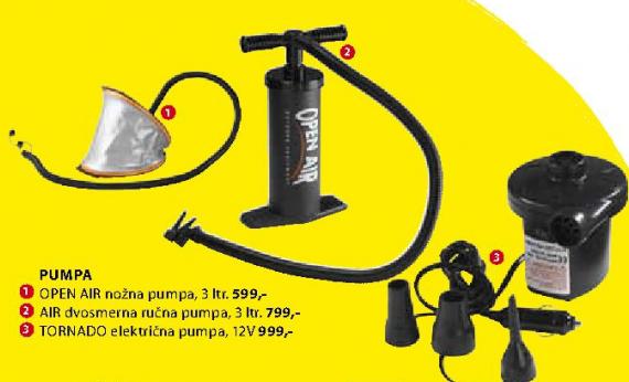 Dvosmerna ručna pumpa Air