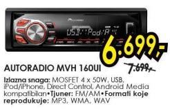 Auto radio Mvh 160ui
