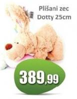Plišani zec Dotty