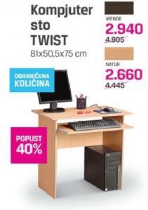 Kompjuter sto Twist