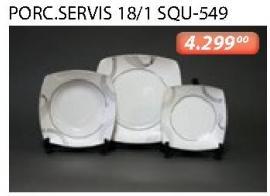 Porcelanski Servis Za Ručavanje 18/1 Squ-549