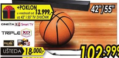 Televizor LED 3D 55LA691S+Poklon TV zvučnik