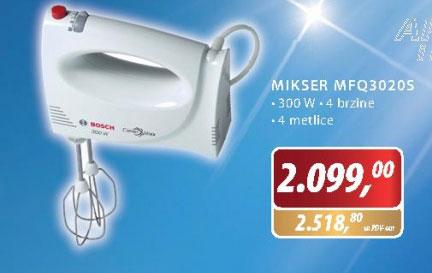 Mikser  MFQ 3020 S
