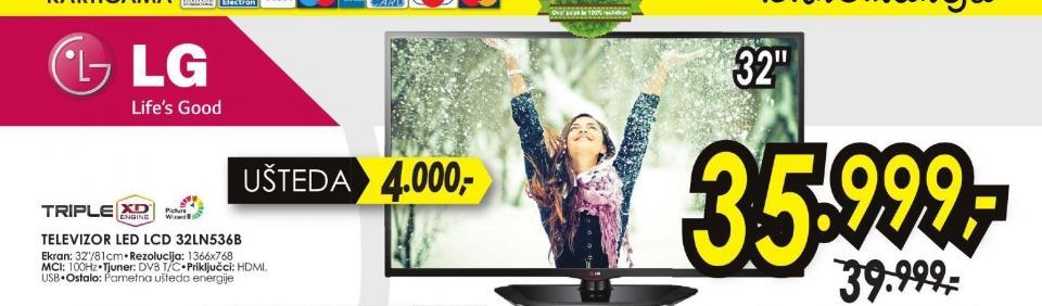 Televizor LED 32LN536B