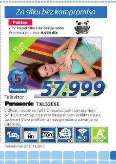 Televizor TX-L32E6E