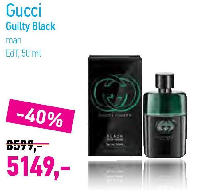 Toaletna voda Guilty black