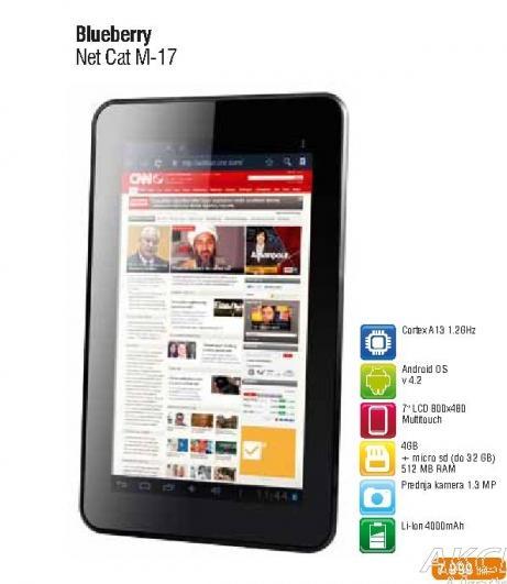 Tablet Netcat M-17