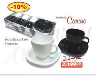 Set šoljica za kafu Carine