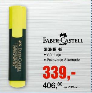 Marker Signir 48 - Faber-Castell