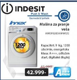 Mašina za pranje veša XWE91283XWWGGIT