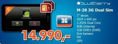 Tablet M-28 3G Dual Sim