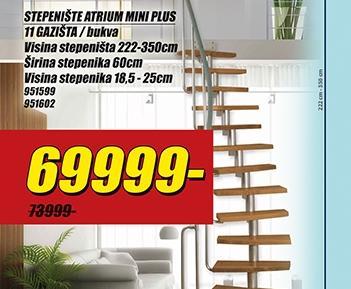 Stepenište Atrium Mini Plus