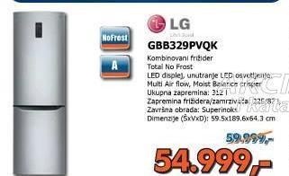 Kombinovani frižider GBB329PVQK