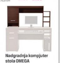 Nadgradnja kompjuterskog stola OMEGA