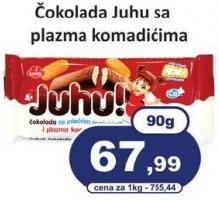 Čokolada plazma