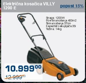 Električna kosačica Villy 1200 E