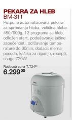 Pekara Za Hleb Bm-311N