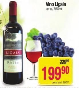 Crno vino Ligaia