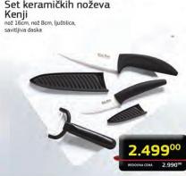 Set keramičkih noževa Kenji