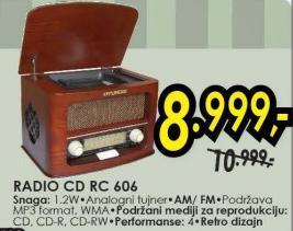 Radio CD Rc 606