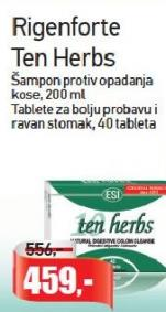 Tablete za bolju probavu Ten Herbs