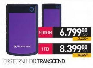 Eksterni hard disk 1Tb