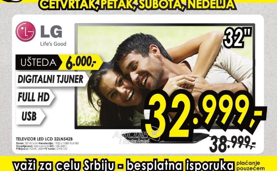 Televizor LED LCD 32LN542B