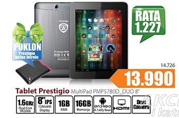 Tablet Multipad PMP578D_DUO 8''