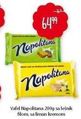 Napolitanke Napolitana lešnik