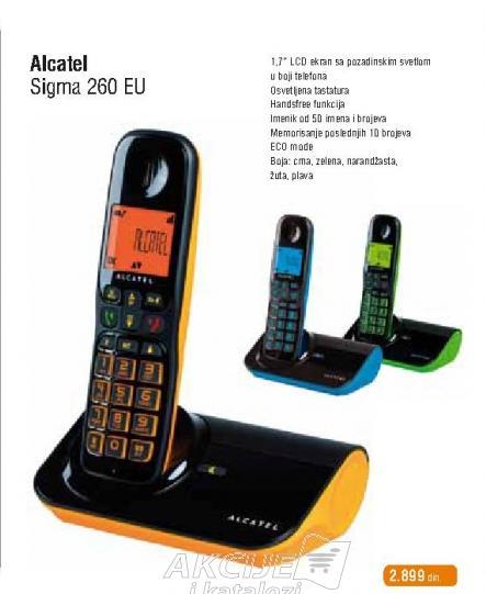 Bežični telefon sigma 260 EU