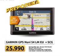 GPS Navigacija Nuvi 54 LM Europe+SCG