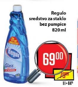 Sredstvo za čišćenje staklenih površina Regulo