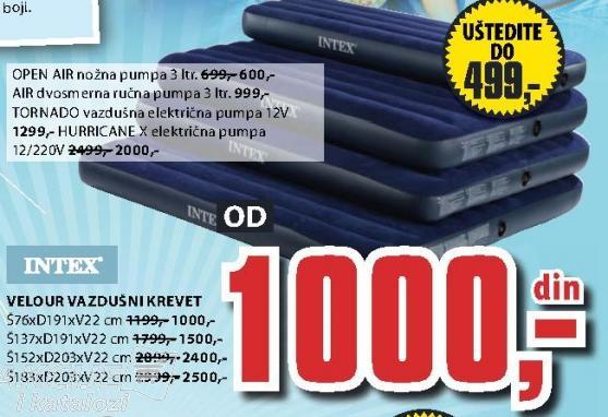 Vazdušni krevet INTEX