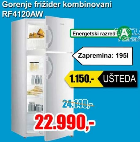Kombinovani frižider RF4120AW