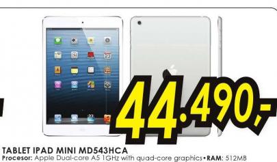 Tablet iPad Mini MD543HCA