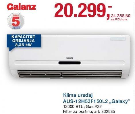 Klima uređaj Aus-12h53f150l2 Galaxy