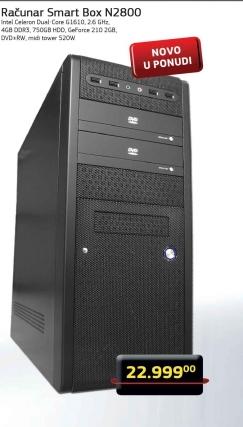 Računar Smar Box N2800