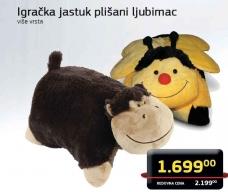 Igračka jastuk plišani ljubimac