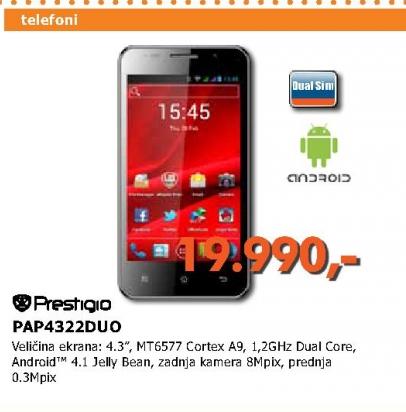 Mobilni telefon PAP4044DUO