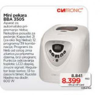 Mini pekara BBA 3505